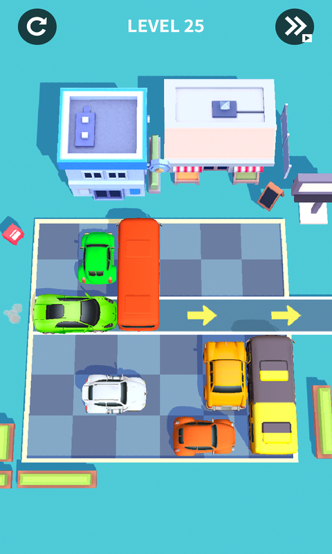 汽车小游戏截图