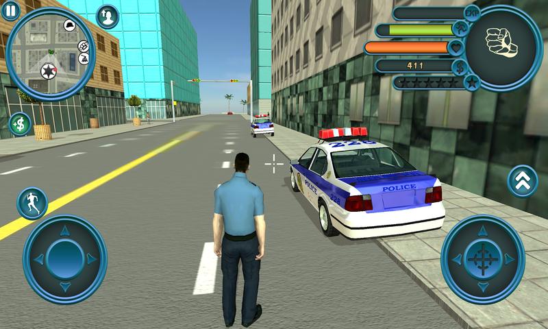 警察追捕行动截图