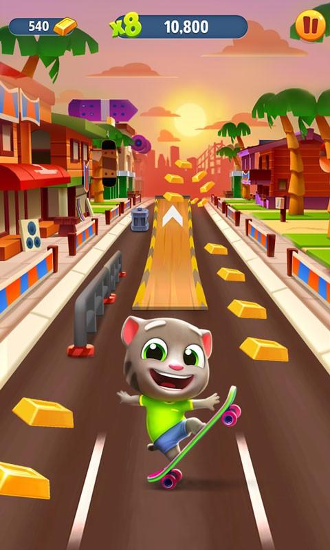 汤姆猫跑酷(会说话系列)截图