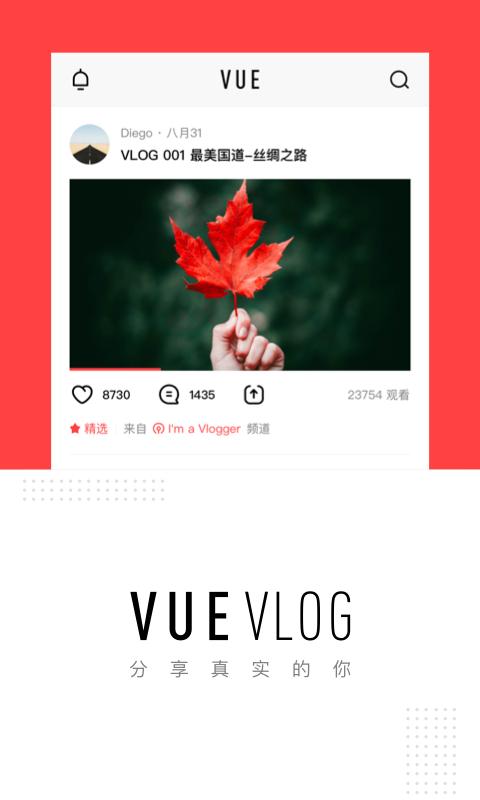 VUEVlog截图