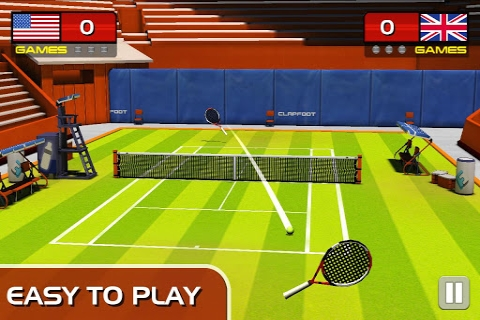 3D网球截图