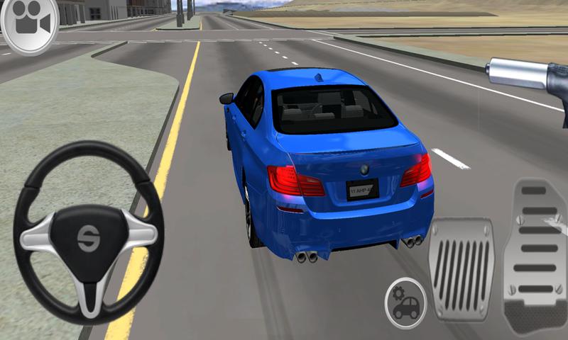 M5驾驶模拟截图