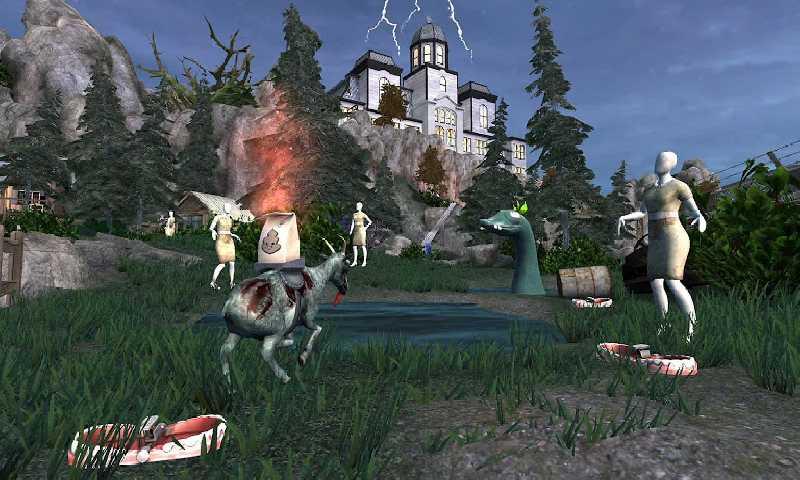 模拟山羊:僵尸山羊截图