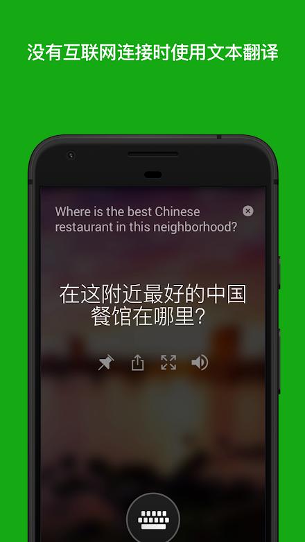 微软翻译截图