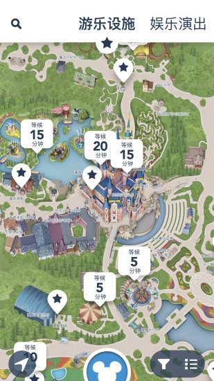 迪士尼度假区截图