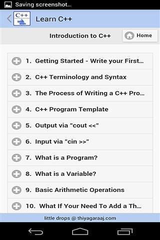 Learn C++截图