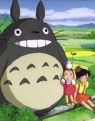 宫崎骏动画龙猫头像