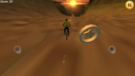 骑小轮车山地自行车的人截图