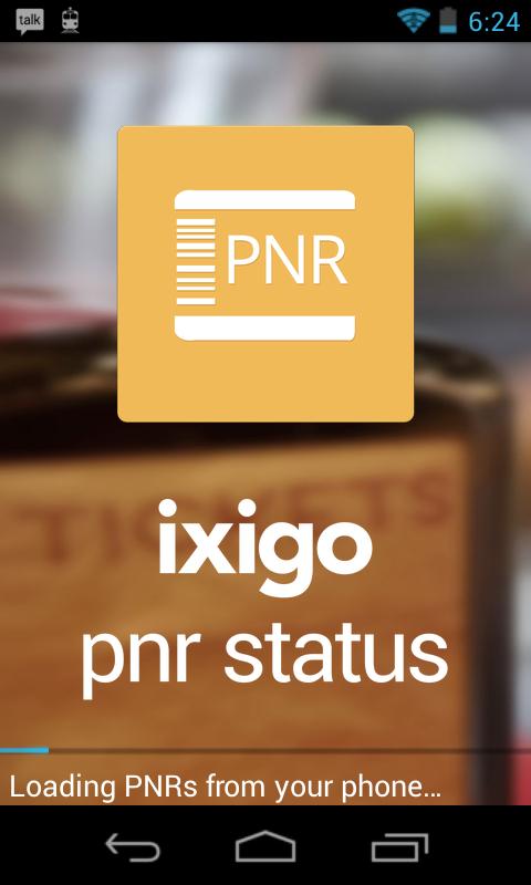 我的PNR