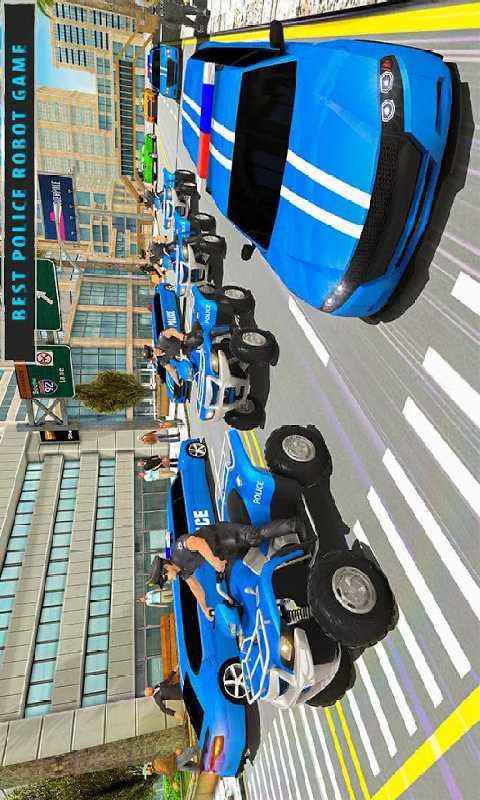 高级轿车机器人截图