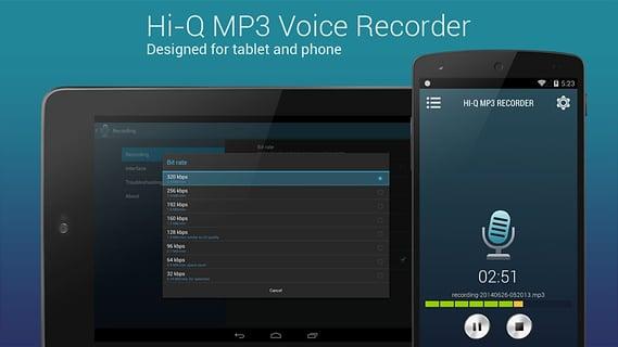 高品质 MP3 录音机 (完整版)截图