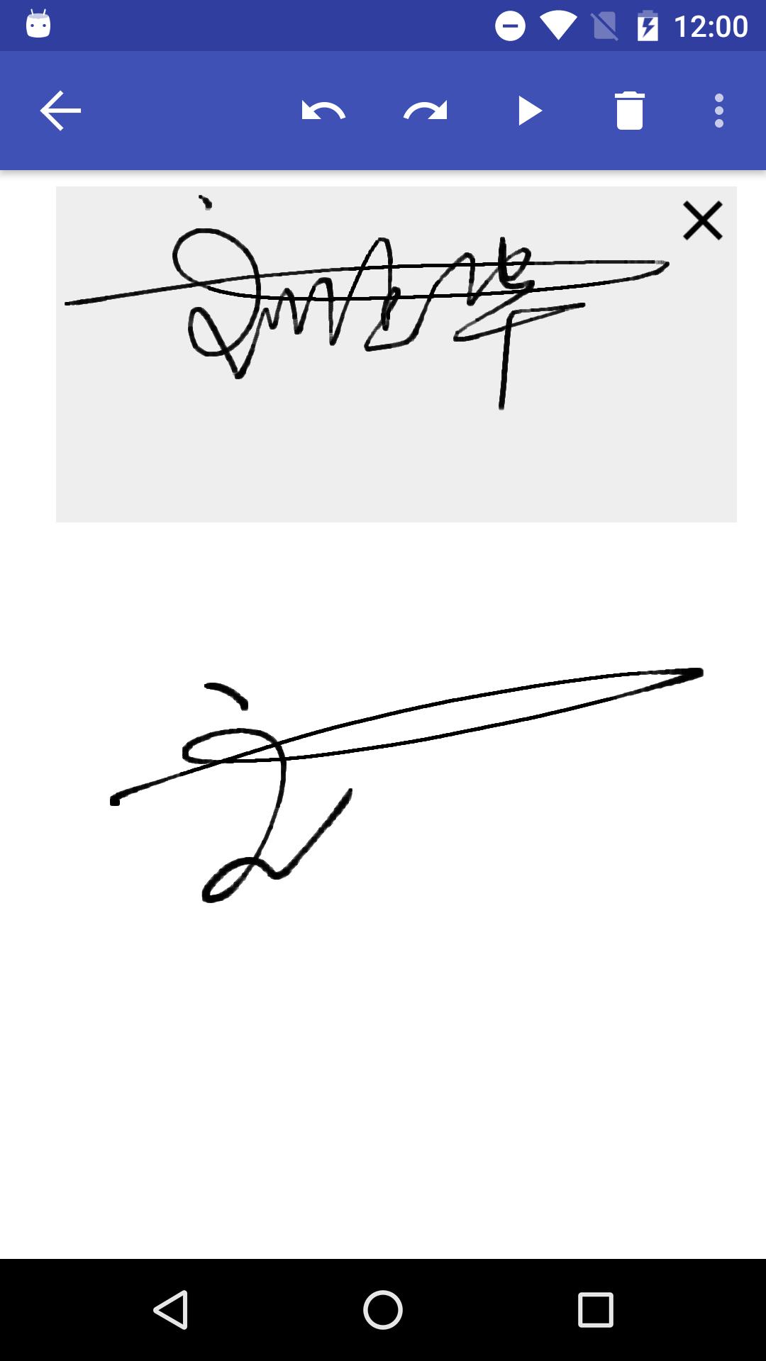 墨签艺术签名截图