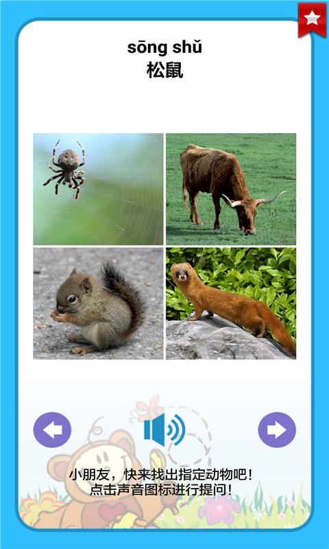 看图识动物