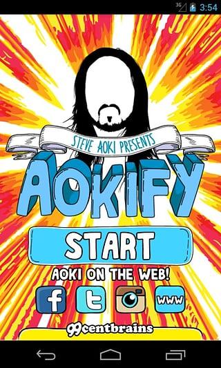 Steve Aoki's Aokify截图