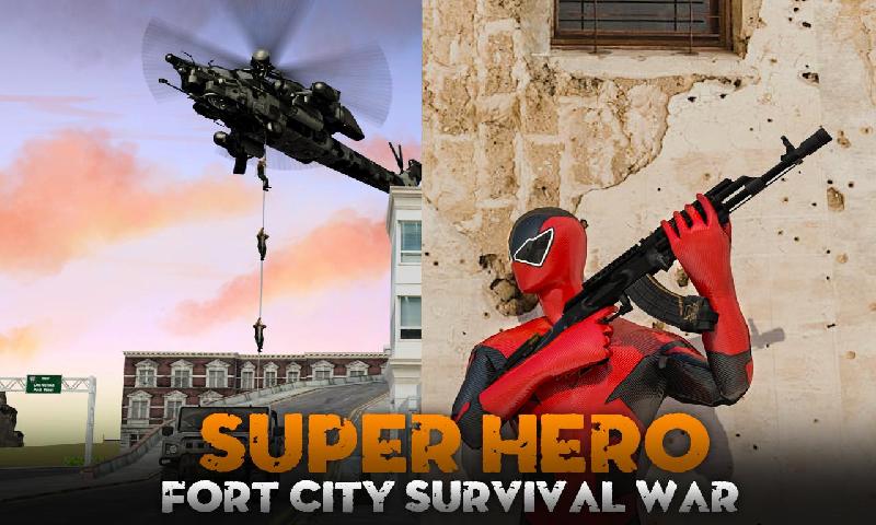 超级英雄:堡垒之夜截图