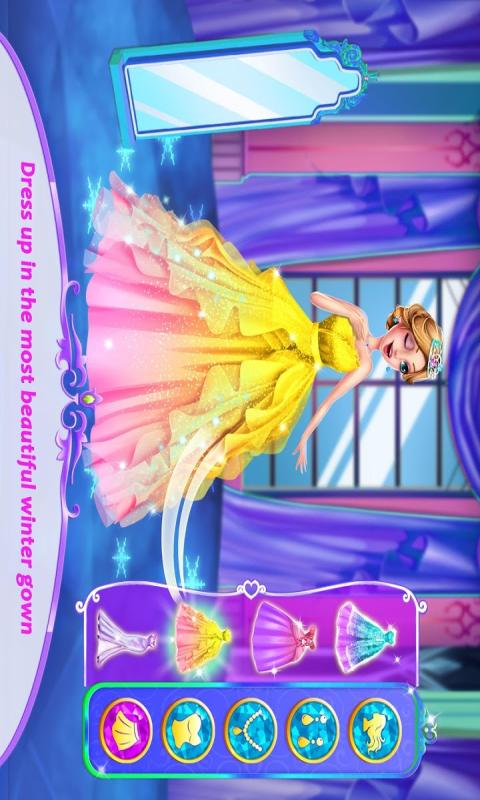 冰雪公主换装游戏截图