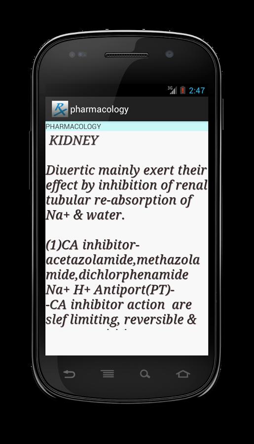 pharmacology截图