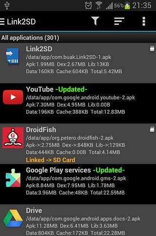 Link2SD截图