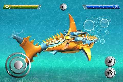 改造机器人鲨鱼