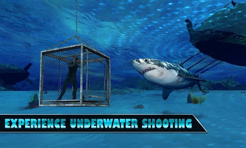 水下鲨鱼狙击猎人截图
