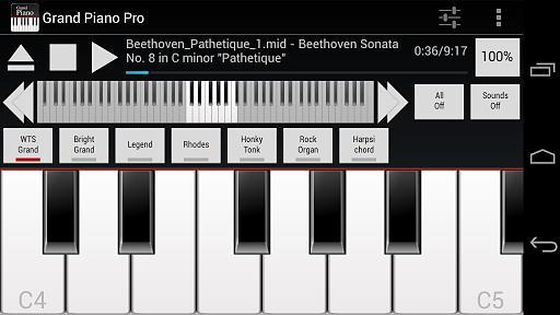 三角钢琴:Grand Piano Pro截图