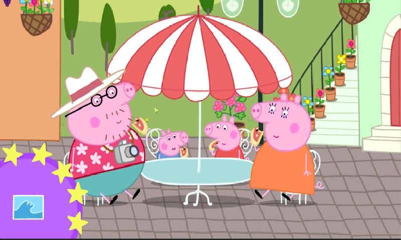小猪佩奇: 假期截图
