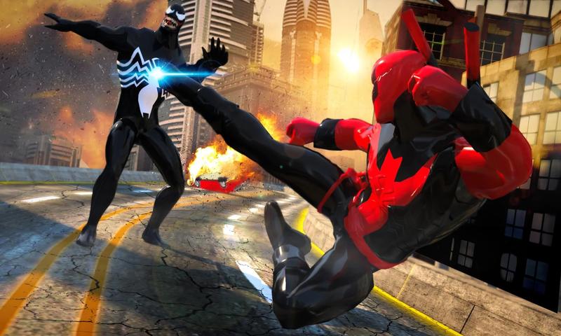 超级英雄:毒液大战蜘蛛侠截图