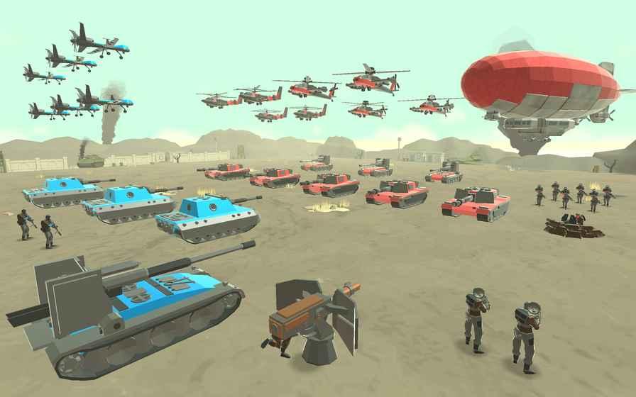 军队战争模拟器