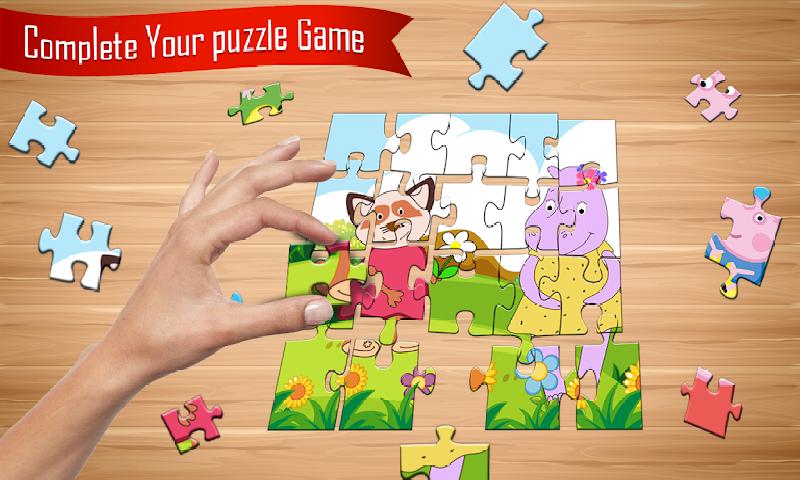 小猪佩奇:拼图新玩法截图