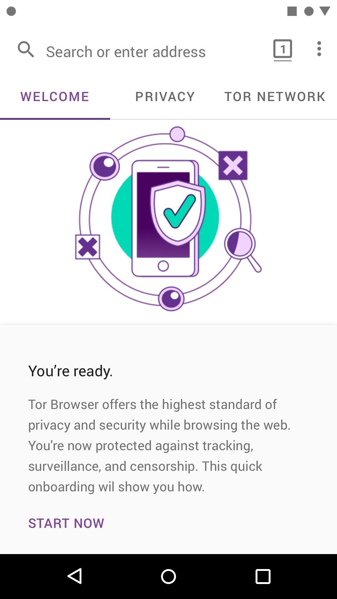 Tor Browser截图