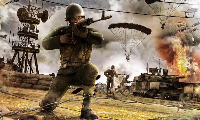 世界战争:生存射击截图