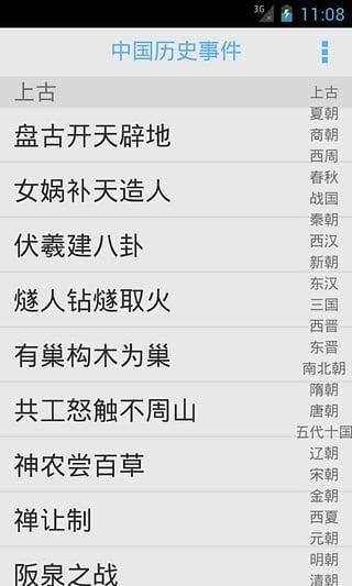 中国历史事件