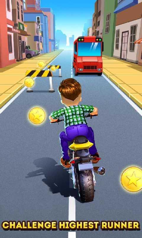 摩托跑酷截图