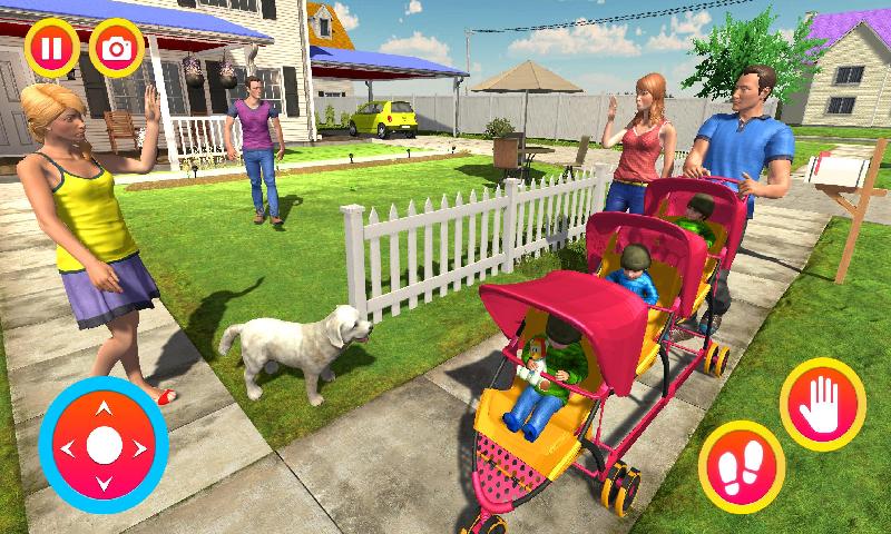 虚拟家庭主妇新妈妈宝宝三胞胎躁狂症截图