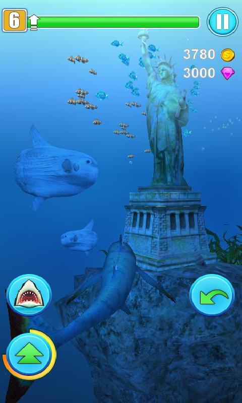 鲨鱼模拟器截图