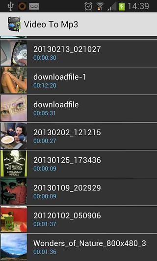 视频转换MP3截图