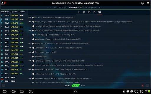 Official F1截图