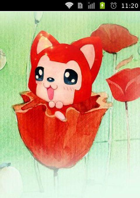 阿狸动漫手机壁纸图片图片