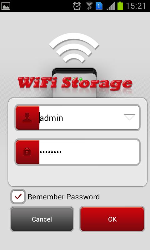 Wi-Fi Storage