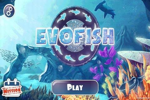 海底世界进化鱼截图