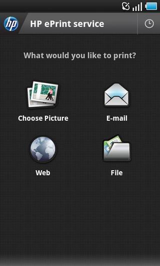 HP ePrint Enterprise截图