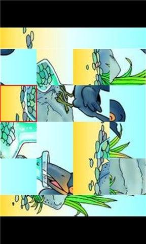 乌鸦喝水四格连环画分享展示图片
