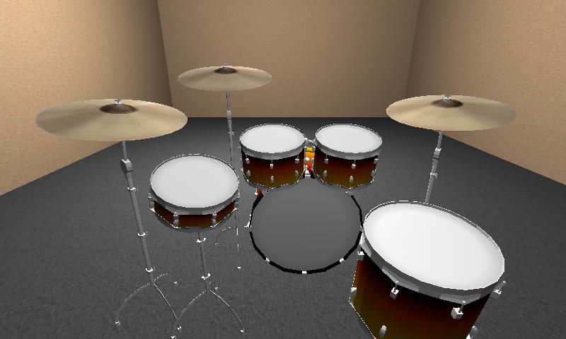 摇滚架子鼓3D