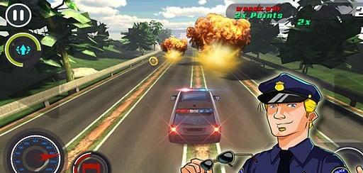 警匪汽车追逐截图