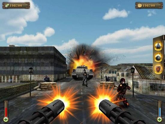 武装炮艇防御3D 无限金币版截图
