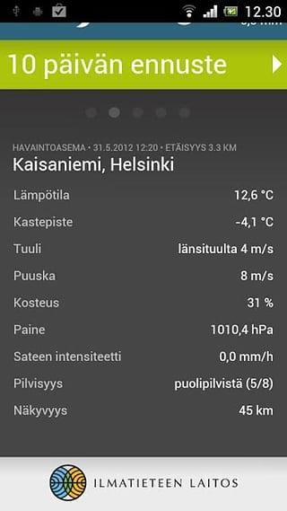FMI Weather