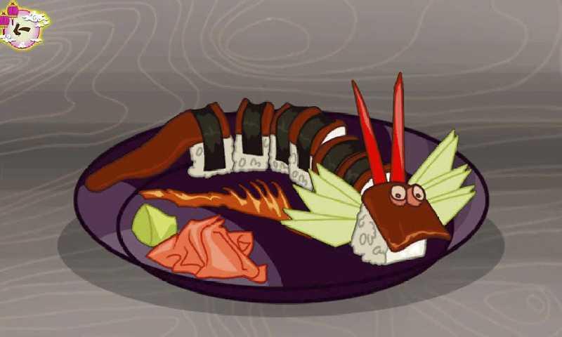 日本聚会:寿司烹饪