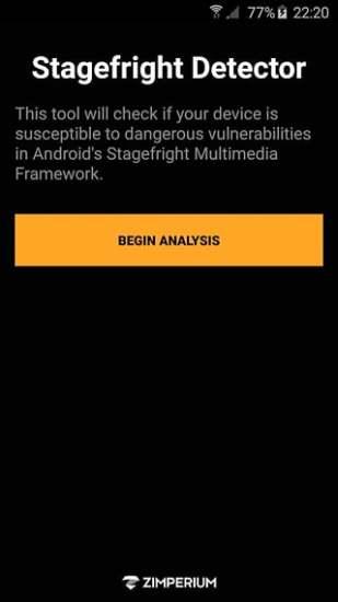 Stagefright检测