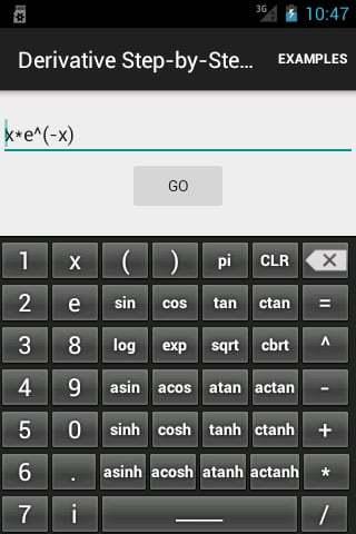 Derivative Step-By-Step Calc截图