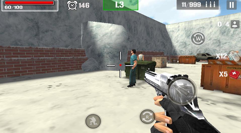 射击猎人枪杀手